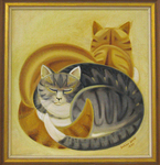 Golden Yin and Silver Yang by Dahlov Ipcar