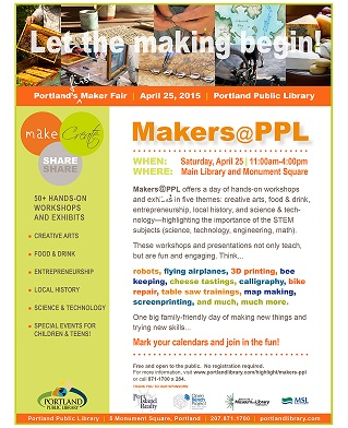 Makers@PPL: Stories in the Making audio interviews