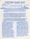 Casco Bay Island Development Association Newsletter : Winter 1976