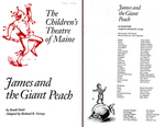 James and the Giant Peach : 1992 - 1993