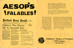 Aesop's Falables : November 1971