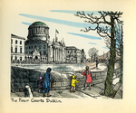 """The Four Courts, Dublin."""