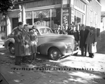 New 1940 Nash Sedan on Forest Avenue, 1939