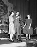 Benny Goodman, in Portland.