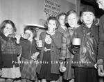 Children fed by Volunteers of America.