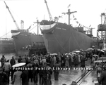 Liberty Ships.