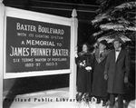 Baxter Boulevard Lights Dedicated.