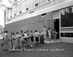 Adams School Opening, 1958.