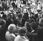 John F. Kennedy Campaigning in Portland, 1960.