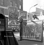 Sidewalk Art Festival, in 1966.