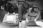 Computers at Portland High School, 1980.
