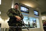 Portland International Jetport, after 9-11.