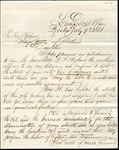 Letter from the Clerk of the Lamp Department, Boston, to the Mayor of Portland by Geo. H. Allen