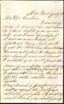 Letter from O.L. Perry to Rev. Dr. Graham by O. L. Perry