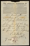 Telegram from E.M. Stanton, Secretary of War, to the Mayor of Portland by Edwin M. Stanton