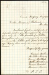 Letter from Eunie Kirtland to the Mayor of Portland