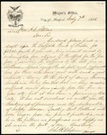 Letter from the Mayor of Hartford, CT, to the Mayor of Portland by Charles R. Chapman