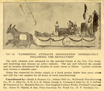 """Program Excerpt: """"Lumbering Attracts Immigration"""" Parade Float"""