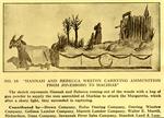 "Program Excerpt: ""Hannah and Rebecca Weston Carrying Ammunition from Jonesboro to Machias"" Parade Float"