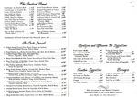 Bentley's Restaurant, 1982