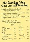 The Good Egg Café, 1982 by The Good Egg Café