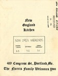 New England Kitchen, 1982 by New England Kitchen