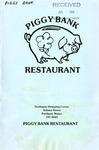 Piggy Bank Restaurant, 1982 by The Piggy Bank Restaurant