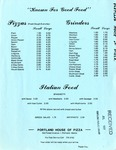 Portland House of Pizza, 1982 by Portland House of Pizza