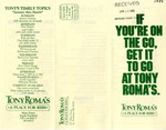 Tony Roma's Restaurant, 1989 by Tony Roma's Restaurant