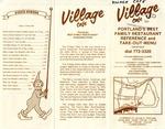 The Village Café, 1982 and 1989