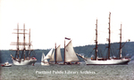 """Fleet Delivers International Flavor,"" OpSail 2000"