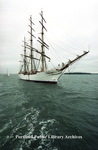 Sailing ship, the Libertad at OpSail 2000, Portland Harbor.