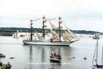 The Libertad, in Casco Bay, OpSail 2000.