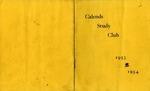 Calends Study Club : 1953 - 1954.