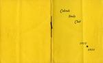 Calends Study Club : 1955 - 1956.
