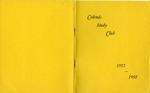 Calends Study Club : 1957 - 1958.