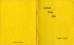 Calends Study Club : 1960 - 1961.