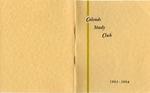 Calends Study Club : 1963 - 1964.