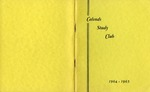 Calends Study Club : 1964 - 1965.
