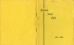 Calends Study Club : 1967 - 1968.