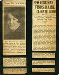 Doris Cooper scrapbook page 1 by Doris Cooper