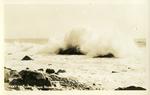 Heavy Surf, Peaks Island, Me.
