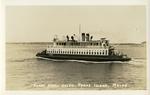 Ferry boat, the Nancy Helen : Peaks Island, Maine.