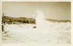 Surf, The Whaleback, Peaks Island, Maine.