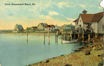Cove, Kennebunk Beach, Me. by George Benson & Son, publisher