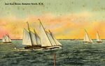 Sail Boat Races, Hampton Beach, NH by Hampton Casino Gift Shoppe, publisher