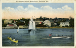 Peaks Island Waterfront, Portland, Me. by Eastern News Co., publisher