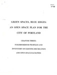 Green Spaces, Blue Edges : An Open Space Plan for the City of Portland by Department of Planning and Urban Development, Portland, Maine