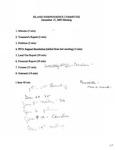 Peaks Island Independence Committee : IIC Steering Committee Minutes, 17 Nov - Dec 2005.
