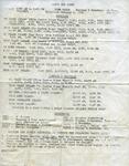 Casco Bay Lines Timetable : January 1978